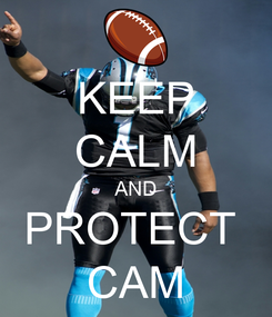 Poster: KEEP CALM AND PROTECT  CAM