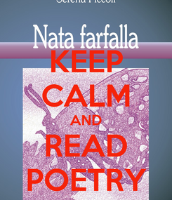 Poster: KEEP CALM AND READ POETRY