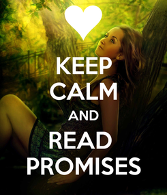 Poster: KEEP CALM AND READ  PROMISES