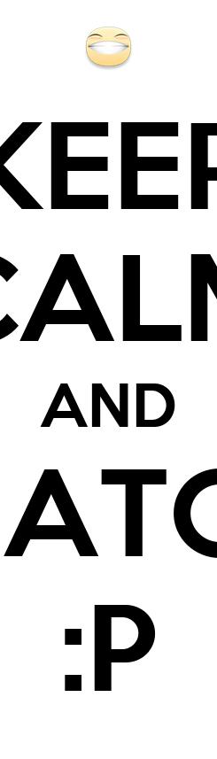 Poster: KEEP CALM AND REHATOHU :P