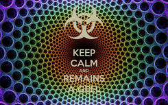 Poster: KEEP CALM AND REMAINS A GEEL