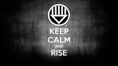 Poster: KEEP CALM AND RISE