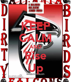 Poster: KEEP CALM AND Rise Up