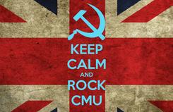 Poster: KEEP CALM AND ROCK CMU