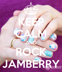 Poster: KEEP CALM AND ROCK JAMBERRY