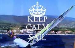 Poster: KEEP CALM AND SAIL