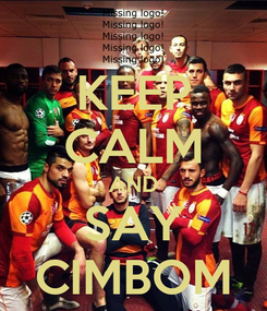 Poster: KEEP CALM AND SAY CIMBOM