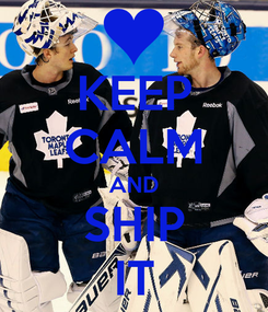 Poster: KEEP CALM AND SHIP IT