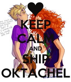 Poster: KEEP CALM AND SHIP OKTACHEL