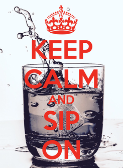 Poster: KEEP CALM AND SIP ON