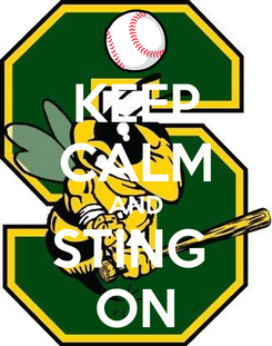 Poster: KEEP CALM AND STING  ON