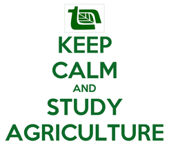 Poster: KEEP CALM AND STUDY AGRICULTURE