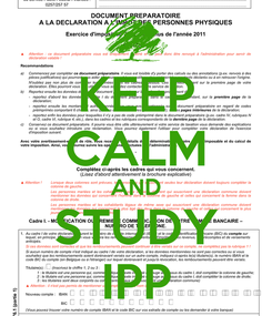 Poster: KEEP CALM AND STUDY IPP