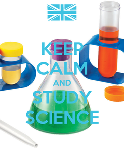Poster: KEEP CALM AND STUDY SCIENCE