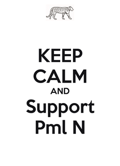 Poster: KEEP CALM AND Support Pml N