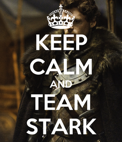 Poster: KEEP CALM AND TEAM STARK