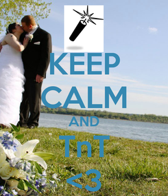 Poster: KEEP CALM AND TnT <3