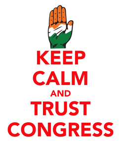 Poster: KEEP CALM AND TRUST CONGRESS