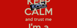 Poster: KEEP CALM and trust me I'm a Computer Engineer