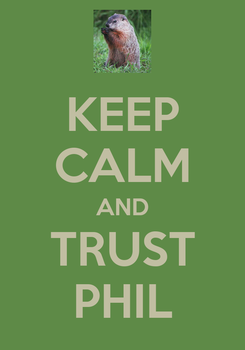 Poster: KEEP CALM AND TRUST PHIL
