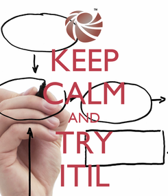 Poster: KEEP CALM AND TRY ITIL