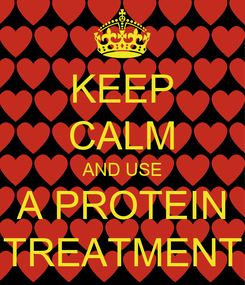 Poster: KEEP CALM AND USE A PROTEIN TREATMENT