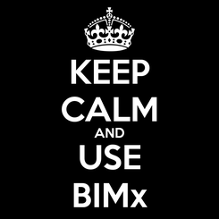 Poster: KEEP CALM AND USE BIMx