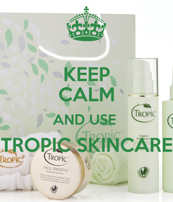 Poster: KEEP CALM AND USE  TROPIC SKINCARE