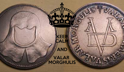Poster: KEEP CALM AND VALAR  MORGHULIS