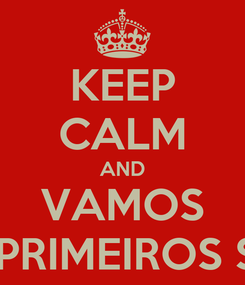 Poster: KEEP CALM AND VAMOS PRATICAR PRIMEIROS SOCORROS