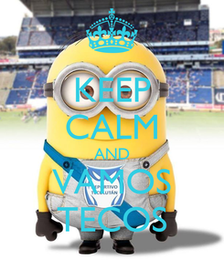 Poster: KEEP CALM AND VAMOS TECOS