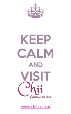 Poster: KEEP CALM AND VISIT .