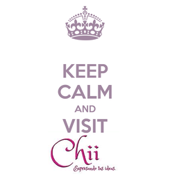 Poster: KEEP CALM AND VISIT