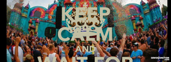 Poster: KEEP CALM AND WAIT FOR TOMORROWLAND 2015