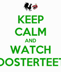 Poster: KEEP CALM AND WATCH ROOSTERTEETH