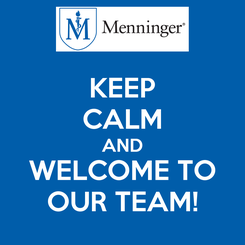 Poster: KEEP CALM AND WELCOME TO OUR TEAM!