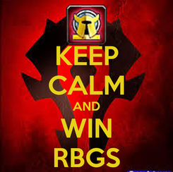 Poster: KEEP CALM AND WIN RBGS