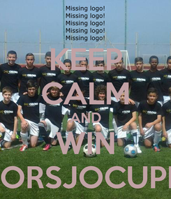 Poster: KEEP CALM AND WIN STORSJOCUPEN