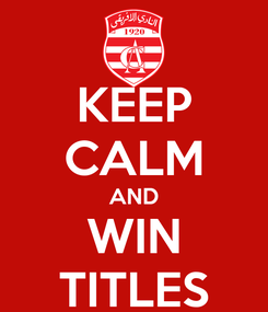 Poster: KEEP CALM AND WIN TITLES