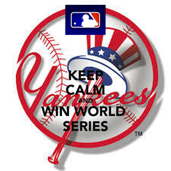 Poster: KEEP CALM AND WIN WORLD  SERIES