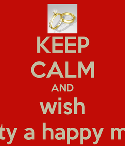 Poster: KEEP CALM AND wish vinu & christy a happy married life!!!