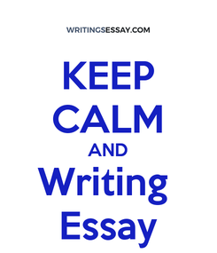 Poster: KEEP CALM AND Writing  Essay