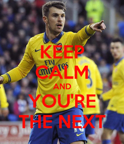 Poster: KEEP CALM AND YOU'RE THE NEXT
