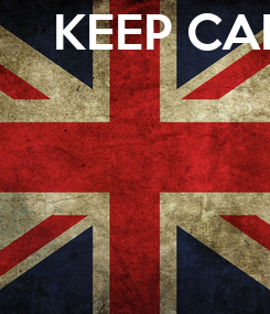 Poster: KEEP CALM because