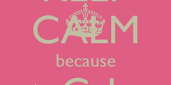 Poster: KEEP CALM because PartyCakesga is on