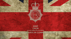 Poster: KEEP CALM DYLAN APRIALDO RACHMAN MASTER OF ARTS IN COMMUNICATION