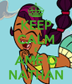 Poster: KEEP CALM E AME O NATHAN