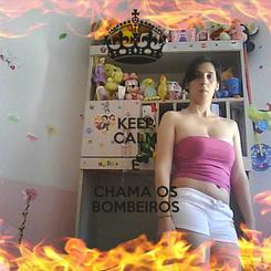 Poster: KEEP CALM E CHAMA OS BOMBEIROS