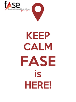Poster: KEEP CALM FASE is HERE!