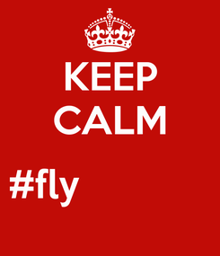 Poster: KEEP CALM  #fly